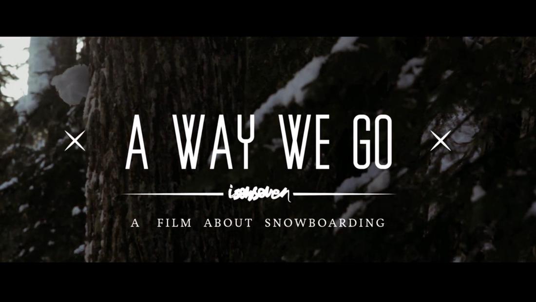 "ISENSEVEN \""A WAY WE GO\"" TRAILER 2013"